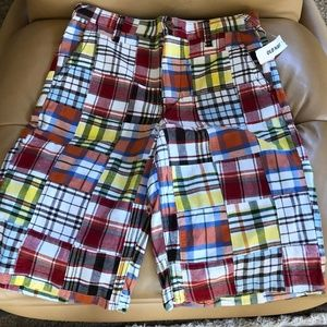 Old Navy Multi Colored Plaid Shorts